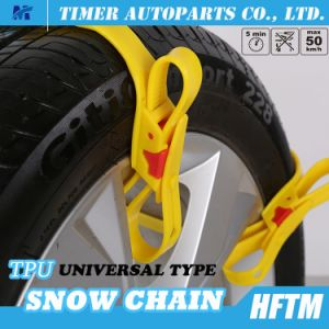 Auto Parts Sand/Mud Wheel Chains Re-Usable Snow Chains pictures & photos