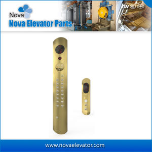 Golden Stainless Steel Elevator Cop Lop with Push Button pictures & photos