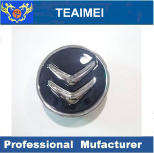 Car Logo ABS Plastic Alloy Wheel Cap with Glass Cement