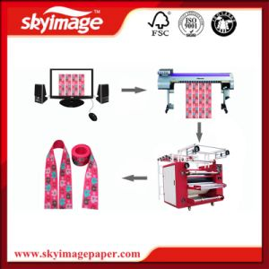 42cm*60cm Heat Transfer Printing Machine for Lanyard, Ribbon, Elastic Band and Other Garment Accessories pictures & photos
