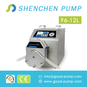 F6-12L 304 Stainless Steel Housing Filling Peristaltic Pump with Servo Motor