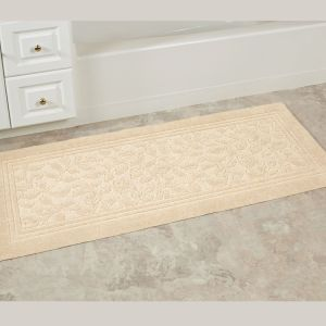 White Tufted/Tufting/Tuft Microfiber Bath Bathroom Shower Toilet Door Floor Mats pictures & photos