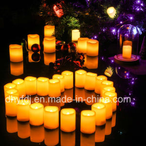 Longest Lasting] Battery Operated Flickering Flameless LED Votive Candles pictures & photos