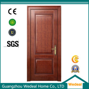 Red Oak Wood Grain Wooden Veneer MDF Interior Door