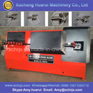 Automatic Hr Series Steel Round Bar Cutting Bending Machine/CNC Steel Wire Bending Machine pictures & photos