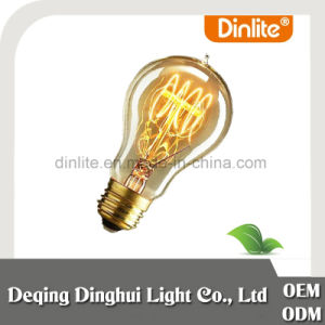Wal-Mart Audited Factory Dimmable Edison A19 Warm White 25W/40W/60W E26 E27 B22 LED Filament Bulb for Energy Saving with Ce/RoHS/ISO9001/SGS