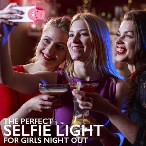 Smart Ring Selfie Light of 5 Types of Lighting /Phone LED Light for iPhone  6s Plus/Se for Samsung Vivo Android All Smartphones
