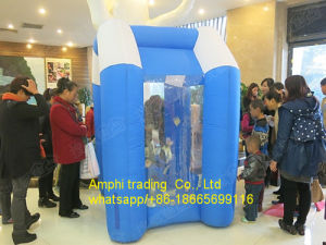 Simple Inflatable Money Booth Advertising Cash Machine