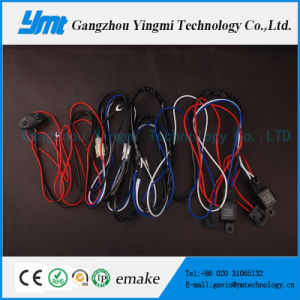 Car Electronics Wiring Harness for LED Work Light, Light Bar