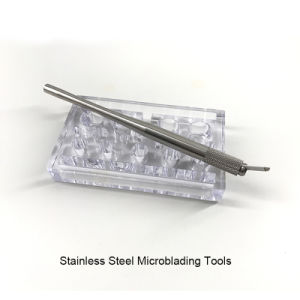 Real Stainless Steel Microblading Manual Tattoo Pen pictures & photos