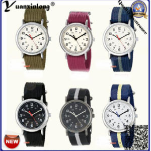 Yxl-139 Fashion Nylon Nato Strap Men Women Watch Vogue High Quality Dress Watch Casual Sport Ladies Wrist Watch Factory pictures & photos