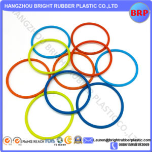 Colored Molding Rubber O Shape Ring pictures & photos