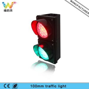 100mm Red Green Cobweb Mini Road Junction Traffic Signal Light pictures & photos