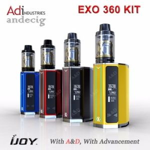 Wholesale 220W / 360W 5ml Ijoy Exo 360 Kit Box Mod E Cigarette Distributor pictures & photos