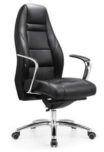 High Quality Leather Swivel Task Chair Office Chair for Furniture pictures & photos