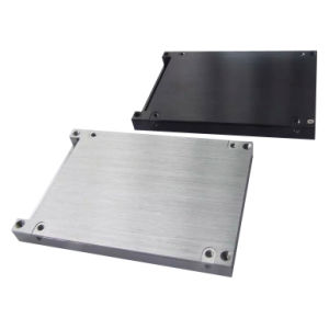 Precision Sheet Metal Prototype with Brushed Surface for Electronic Product (LW-03167) pictures & photos