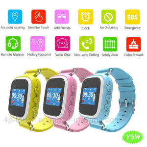 IP67 Waterproof Kids GPS Tracker Watch with Sos Button (Y5W) pictures & photos