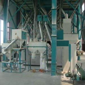 Maize Flour Milling Machine with Packing Machine