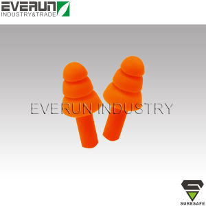 ER9262A3 CE EN352 Soundproof Shooting Sleeping Silicone Ear Plugs pictures & photos