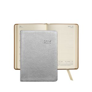 2016 New Custom Gift A11 A5 Journal Diary PU Leather Cover Notebook with Pen pictures & photos