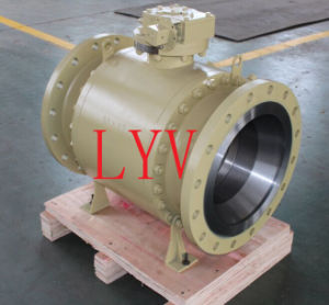 Flanged Carbon Steel Trunion Ball Valve
