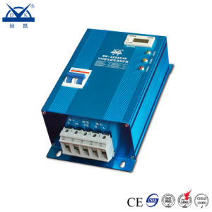 Blue Aluminum Shell Voltage Protector Box Type with Malfunction Indicator pictures & photos