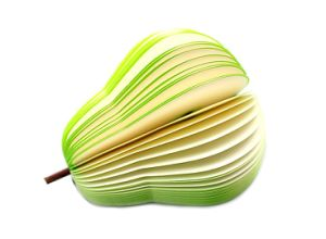 Eco-Friendly Colorful 3D Advertising Note Pad Fruit Shape Memo Pad pictures & photos