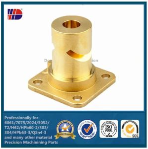 OEM Precision CNC Metal Machining Parts with Copper Parts pictures & photos
