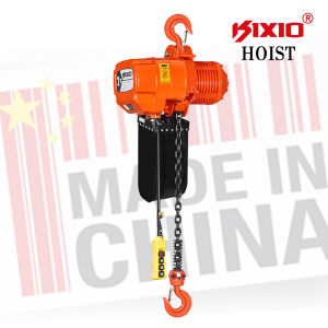 Gear Reduction Electric Motor 2 Ton Electric Chain Hoist with Trolley pictures & photos