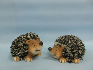 Hedgehog Shape Ceramic Crafts (LOE2532-C10)