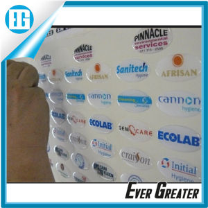 Customized Logo Dome Stickers 3D Look pictures & photos