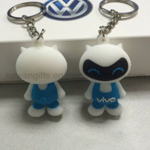 3D Soft PVC Rubber Keychain pictures & photos