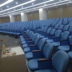 Auditorium Seats, Push Back Auditorium Chair, Plastic Auditorium Seat, Auditorium Seating, Conference Hall Chairs (R-6136) pictures & photos