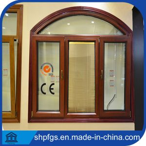 China Leatest Design Wood Door Swing Wood Clad Aluminum Window China Aluminum Window Double Glass Aluminium Windows