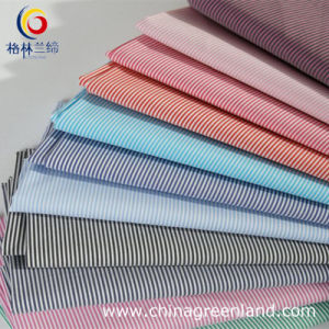 65%Cotton 32%Naylon 3%Spandex Stripe Fabric for Shirts pictures & photos