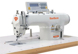 High Speed Direct Drive Computerized Lockstitch Sewing Machine pictures & photos