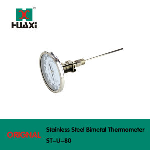 Stainless Steel Industrial Universal Bimetal Thermometer pictures & photos