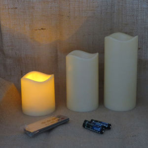 Universal Home Flameless Remote Control LED Candle pictures & photos