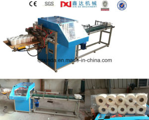 Semi-Automatic Toilet Paper Multi Roll Plastic Packing Machine Supplier pictures & photos
