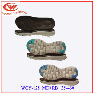 High Quality Unisex Outdoor Sandals Sole Fashion EVA Rb Outsole for Making Slipper pictures & photos