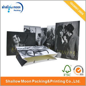 Customized Brands Hot Stamping Paper Shopping Bag (QYCI1527)
