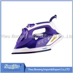 Travelling Steam Iron Sf-9002 Electric Iron with Ceramic Soleplate (Blue)