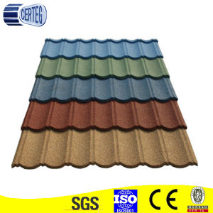 Color Stone Coated Metal Roof Tiles/Asphalt Shingles pictures & photos