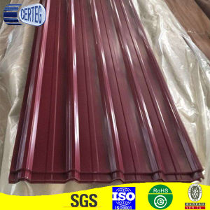 0.45mm RAL3005 wine red roofing sheet pictures & photos