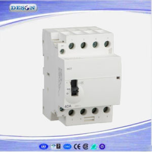 2p 20A Ict Manual Control Household Electrical AC Contactor pictures & photos