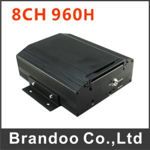 8CH Bus DVR, 8 Cameras Recording in Real Time, 960h Resolution, H. 264 Compression, 2tb HDD Memory