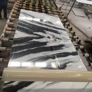 Bookmatch Marble Natural Stone Veneer for Background
