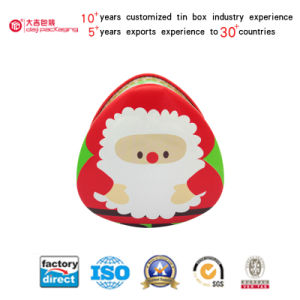 OEM Series Christmas Tin Can for Packing Gift (T001-V7)