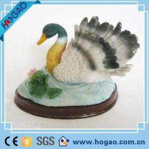 Resin Animal Statue Noble Swan Home Decor pictures & photos