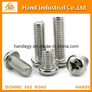 Stainless Steel Pan Head Cross Machine Screw pictures & photos